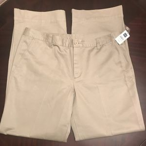 Gap Women's Straight Leg Tan Pants 16 Reg.